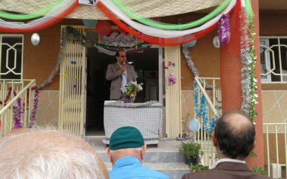 مراسم بازگشایی مدارس اسرم در مدرسه غیر انتفاعی قائم اسرم