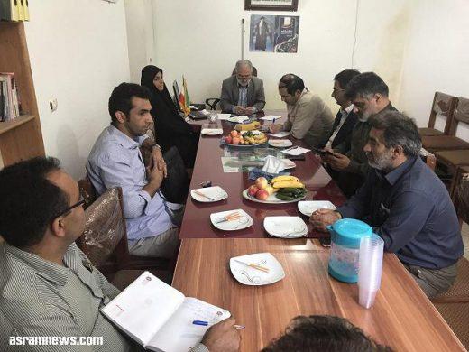 تشریح نشست مشترک شورای اسلامی با مسئولین بنیاد مسکن استان